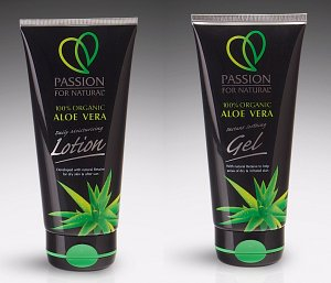 Passion for Natural Aloe Vera Gel and Lotion